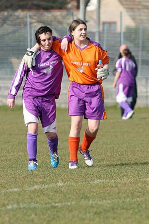 Haddenham 0-2 Exning (ladies)