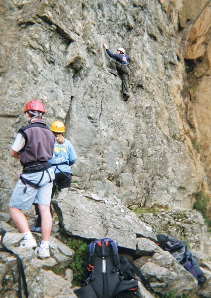Climbing free form
