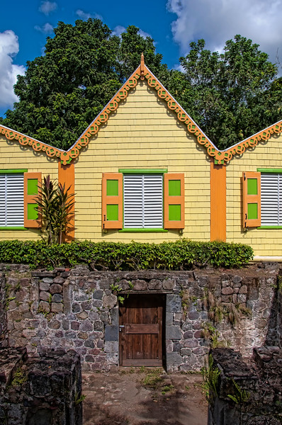 Part of Romney Manor in St. Kitts.