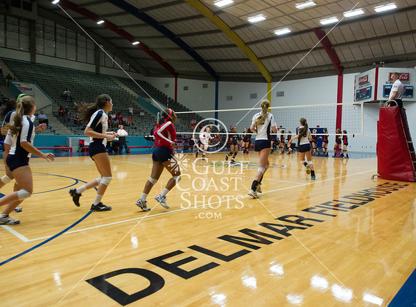 2013-09-25 Volleyball Varsity Girls Bellaire v Lamar