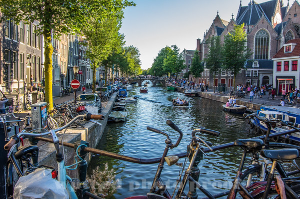 Amsterdam - a very select view