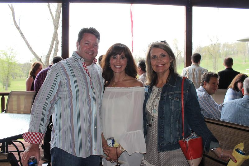 Branch and Lisa Ward, Sue Gleghorn 1.JPG