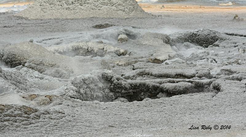 Surreal looking Mudpots - 7/27/2014 - Salton Sea area, Imperial Valley