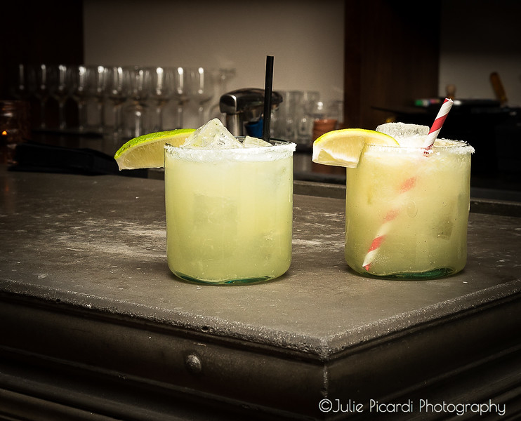 Unique creations of margaritas are not to be missed.