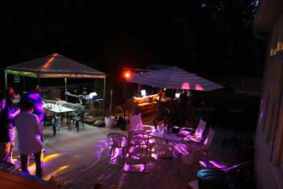 BADJA Pool Party - Mark's New Lighting Demo