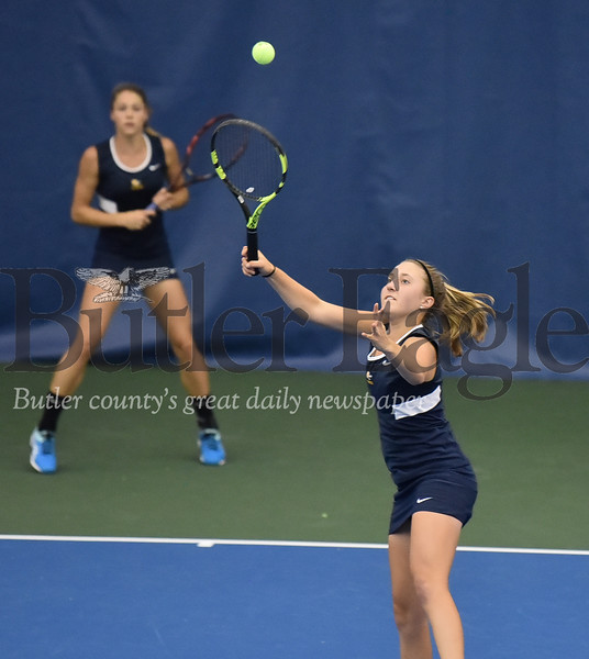 47663 WPIAL Class AAA Girls Doubles tennis championship at Oxford Athletic Club