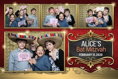 Goldstein Bat Mitzvah Photobooth 2.15.2020