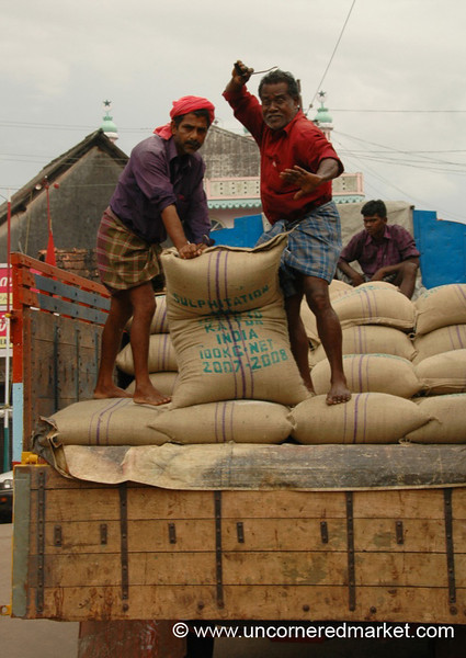 Goofing with the Sacks - Kollam, India