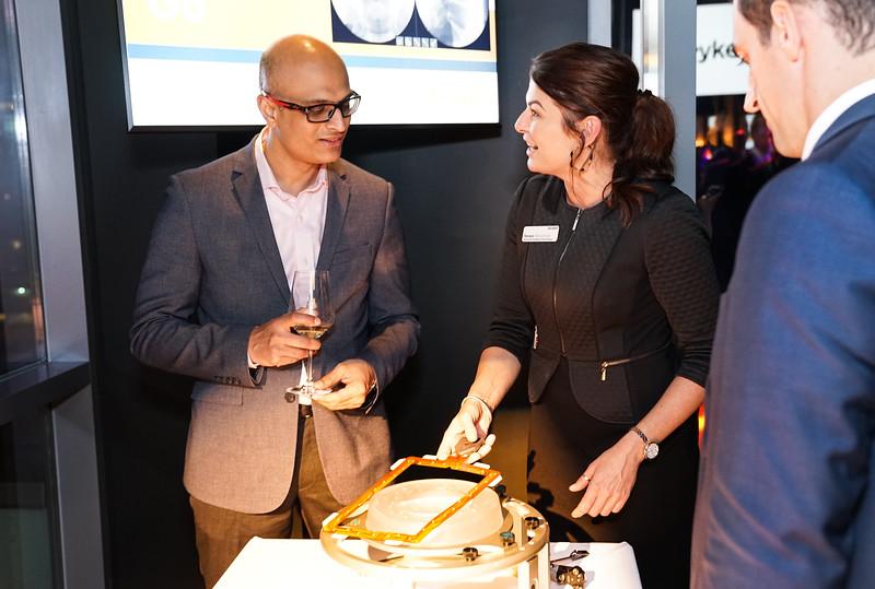 Tanya Sheneman, AGT Brand Manager, at the customer reception at the NASS meeting.jpg