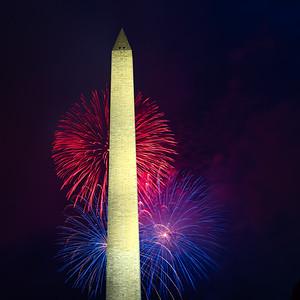 7/4/2021 Washington DC Fireworks