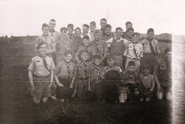 1952-08 Summer Camp Dinas Cross Pembrokeshire