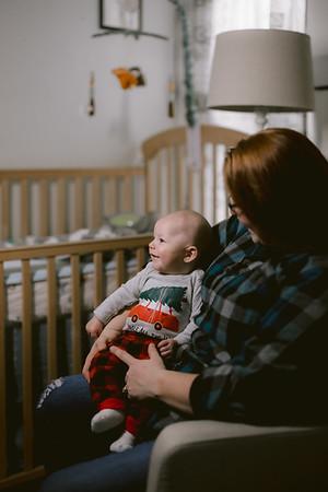 Rebecca and Bart Newborn