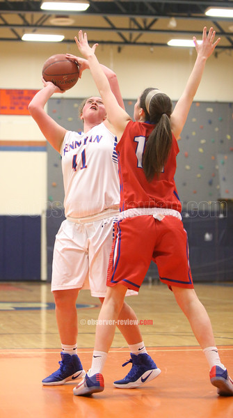 Penn Yan Girls Basketball 2-22-17