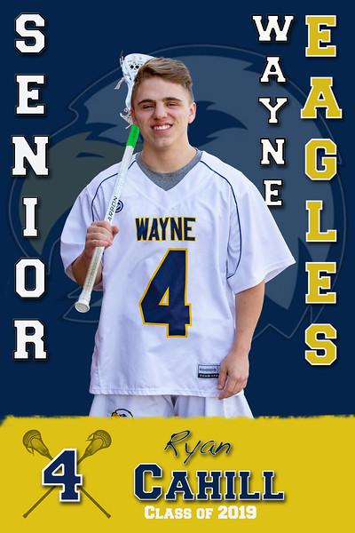 Wayne Varsity Boys Lacrosse Senior Banners