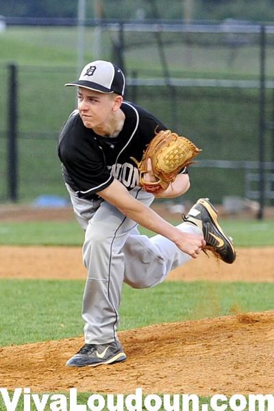 Baseball - Varsity:  Dominion @ Woodgrove  2013 (by Scott Shepherd)