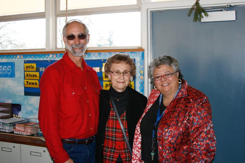 Christmas school visit