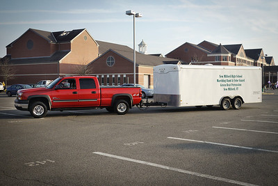 NMHS Band & Guard Trailer Gallery