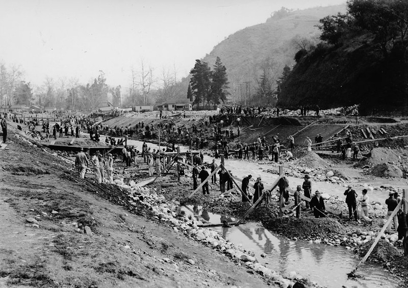 Arroyo Seco Excavation East of Sycamore Grove