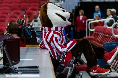 UW Sports - Badger Cheerleaders - Dec 06, 2017