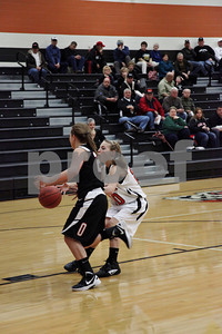 WHS Girls Basketball vs Oak Hill 1-20-12