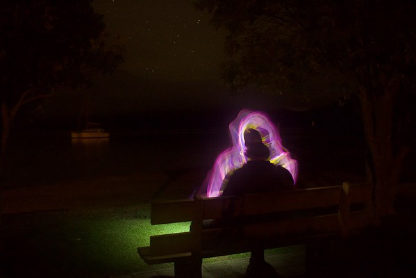 Light Painting #4 - Picton