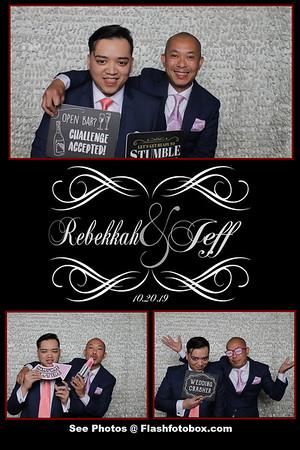 Rebekkah & Jeff Wedding - October 20, 2019