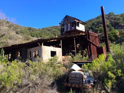 MTB to Sunbird Quicksilver Mine (Feb 2015)