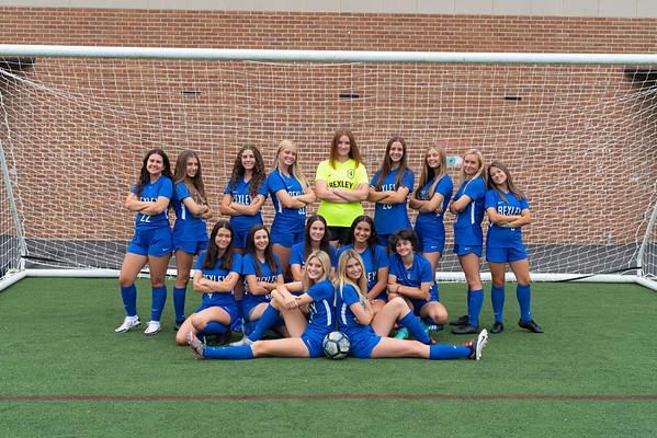 Girls Soccer Portraits