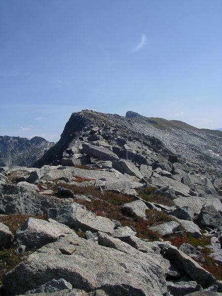 Cool looking ridge.