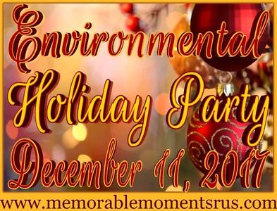 Environmental Holiday Party