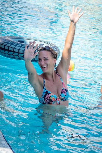 Jessica's Pool Party 9-23-18