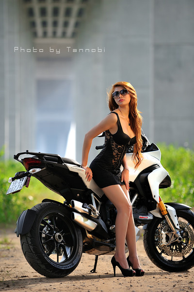 Looking for the source of the original photo for this photo set - please get in touch: http://MTS1200.info Ducati Multistrada 1200 Girl / Model