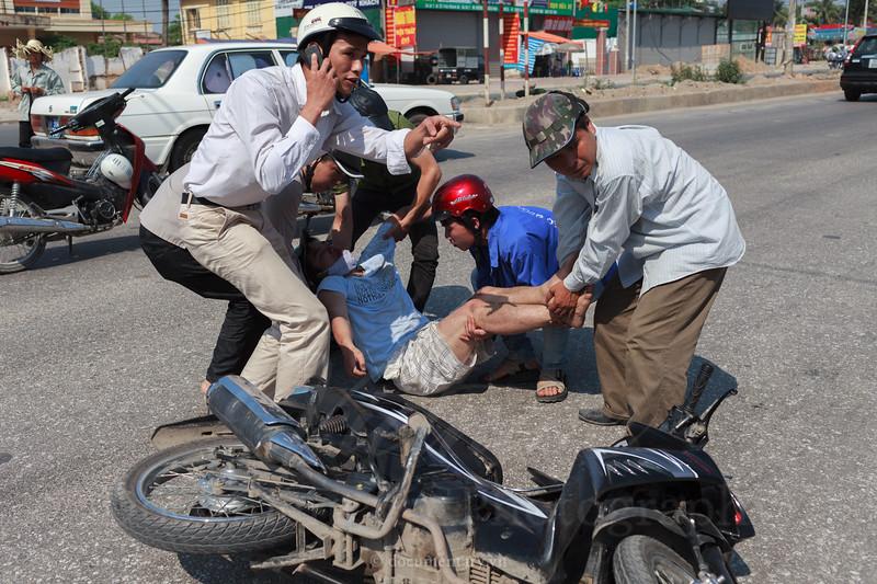 Motorbike Accident