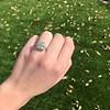 2.85ct Antique Cushion Cut Diamond Halo Ring 30