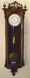 VR-339 - Month-duration Austrian late-Biedermeier timepiece by Johann, Aron, Eisenerz.