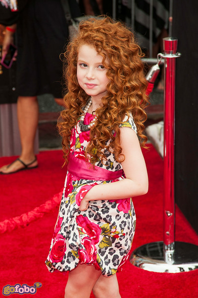 HOLLYWOOD, CA - JULY 15: Actress Francesca Capaldi attends the premiere of Disney's 'Planes: Fire & Rescue' at the El Capitan Theatre on Tuesday July 15, 2014 in Hollywood, California. (Photo by Tom Sorensen/Moovieboy Pictures)