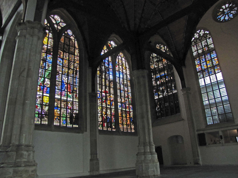 16-Old Church, the Lady Chapel (Maria Kapel). 16th century windows