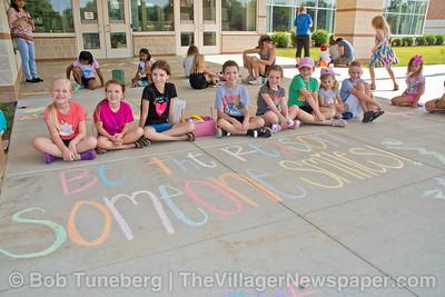 Westlake Elementary Chalk Walk 2021