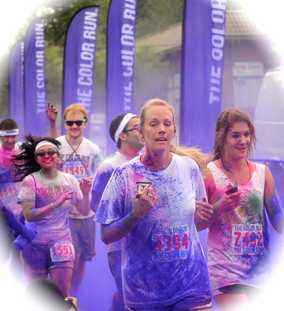 Color Run Atlanta 2012 # 2 Color my Worl