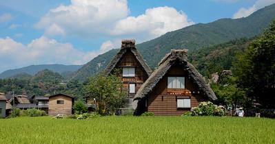 合掌村,  立山黑部, Japan , 2009