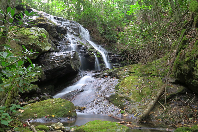 Caney Fork Valley Waterfalls  (8.0 miles; d=10.96)
