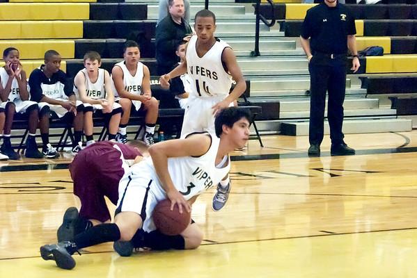 Basketball Verrado Freshman Boys vs Shadow Ridge 1/4/2011