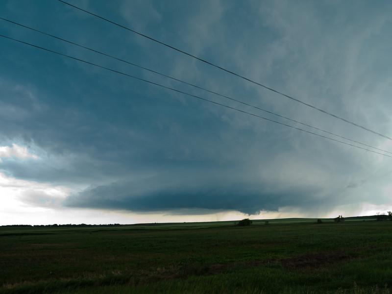 tornado forming near Dupree, SD
