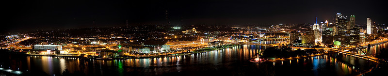 Panorama from Duquesne Incline Station