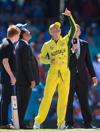 2015 ICC World Cup Semi Final Australia v India