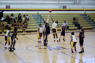 2009/12/08 BHS Girls JV Basketball - Butler @ West Charlotte