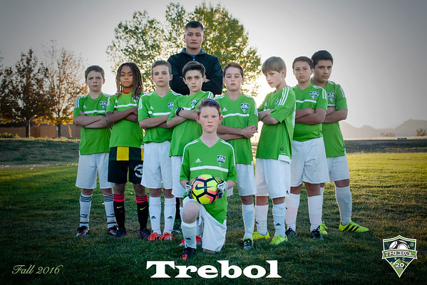 Trebol Soccer - Blue Team