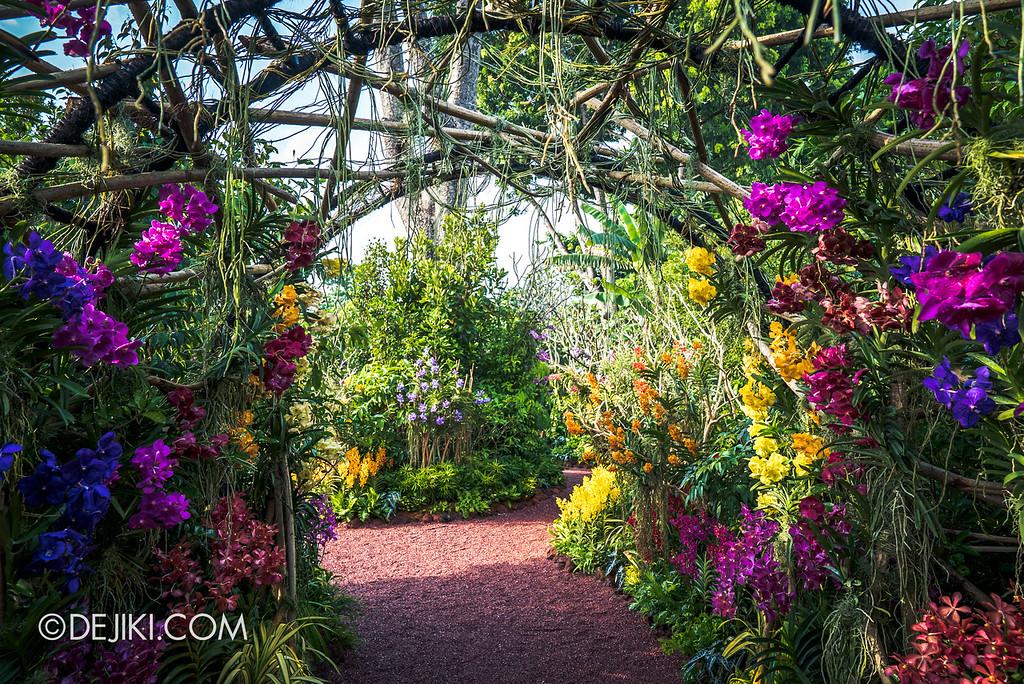 Singapore Garden Festival 2018 - Vanda Valley canopy