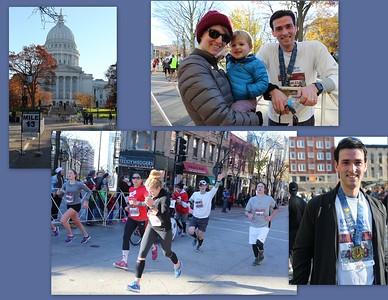 Charlie runs the Madison Half-Marathon 11.08.2015