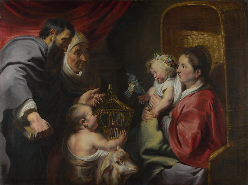 The Virgin and Child with Saint John and his Parents